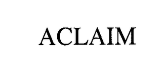 mark for ACLAIM, trademark #76265160