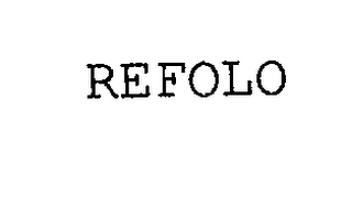 mark for REFOLO, trademark #76265608