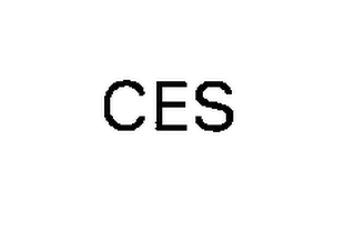mark for CES, trademark #76265898