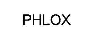 mark for PHLOX, trademark #76269159