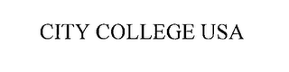 mark for CITY COLLEGE USA, trademark #76269184