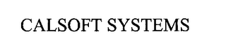 mark for CALSOFT SYSTEMS, trademark #76269253