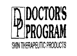 mark for DP DOCTOR'S PROGRAM SKIN THERAPEUTIC PRODUCTS, trademark #76269690
