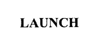 mark for LAUNCH, trademark #76269829