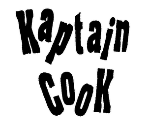 mark for KAPTAIN COOK, trademark #76271493