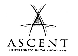 mark for A ASCENT CENTER FOR TECHNICAL KNOWLEDGE, trademark #76272052