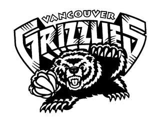 mark for VANCOUVER GRIZZLIES, trademark #76272253