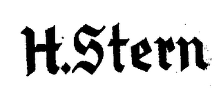 mark for H.STERN, trademark #76274192
