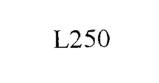 mark for L250, trademark #76274358