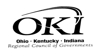 mark for OKI OHIO KENTUCKY INDIANA REGIONAL COUNCIL OF GOVERNMENTS, trademark #76276013