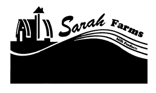 mark for SARAH FARMS MILK PRODUCTS, trademark #76276267