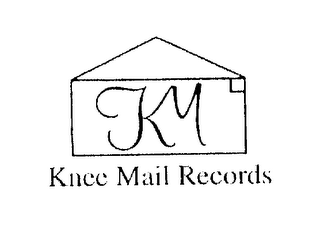 mark for KM KNEE MAIL RECORDS, trademark #76276388