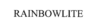mark for RAINBOWLITE, trademark #76277505