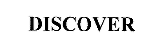 mark for DISCOVER, trademark #76281027