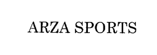 mark for ARZA SPORT, trademark #76281616