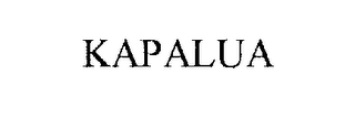 mark for KAPALUA, trademark #76281771