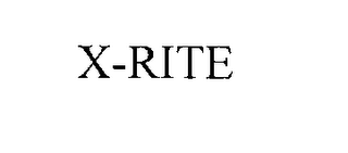 mark for X-RITE, trademark #76285932