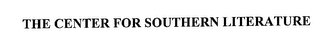 mark for THE CENTER FOR SOUTHERN LITERATURE, trademark #76286213