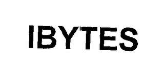 mark for IBYTES, trademark #76286506