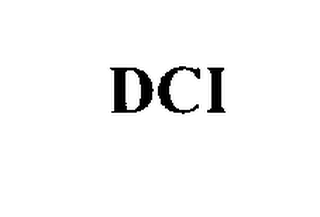 mark for DCI, trademark #76288228