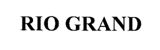 mark for RIO GRAND, trademark #76288541
