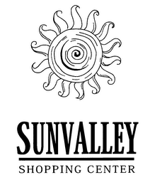 mark for SUNVALLEY SHOPPING CENTER, trademark #76288918