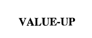 mark for VALUE-UP, trademark #76289189