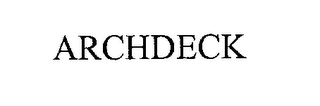 mark for ARCHDECK, trademark #76289313