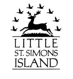 mark for LITTLE ST. SIMONS ISLAND, trademark #76290145