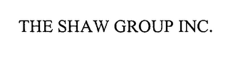 mark for THE SHAW GROUP INC., trademark #76291009