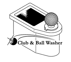 mark for CLUB & BALL WASHER, trademark #76291701