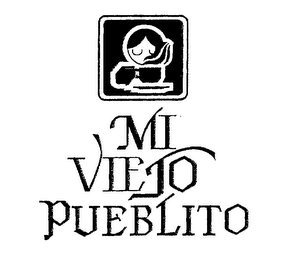 mark for MI VIEJO PUEBLITO, trademark #76294985