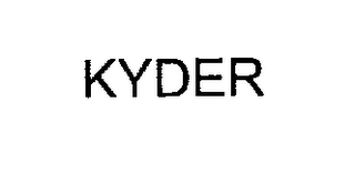 mark for KYDER, trademark #76295544