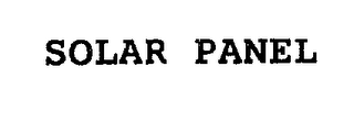 mark for SOLAR PANEL, trademark #76296451
