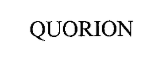 mark for QUORION, trademark #76297135