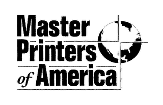 mark for MASTER PRINTERS OF AMERICA, trademark #76297480