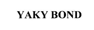 mark for YAKY BOND, trademark #76297781