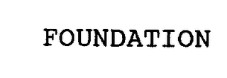 mark for FOUNDATION, trademark #76298023