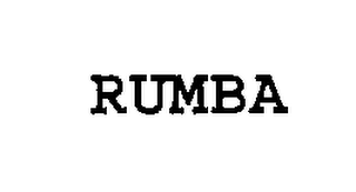 mark for RUMBA, trademark #76299247