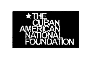 mark for THE CUBAN AMERICAN NATIONAL FOUNDATION, trademark #76300021