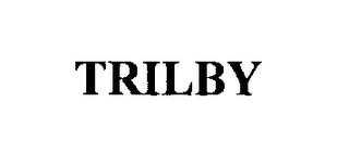 mark for TRILBY, trademark #76300047