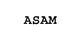 mark for ASAM, trademark #76300291