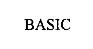 mark for BASIC, trademark #76300370