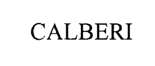 mark for CALBERI, trademark #76301243