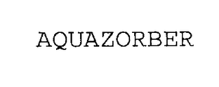 mark for AQUAZORBER, trademark #76301349