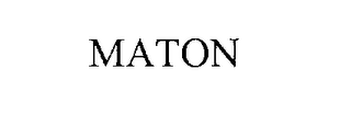 mark for MATON, trademark #76303329