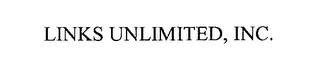 mark for LINKS UNLIMITED, INC., trademark #76303388