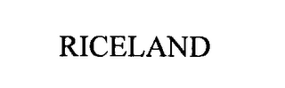 mark for RICELAND, trademark #76303876