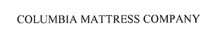 mark for COLUMBIA MATTRESS COMPANY, trademark #76303896