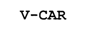mark for V-CAR, trademark #76304052